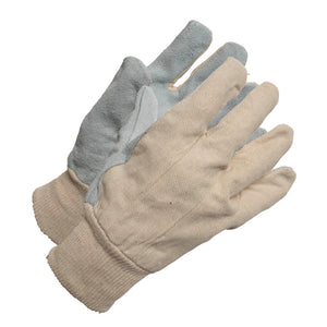 Lined Lather Palm Work Glove