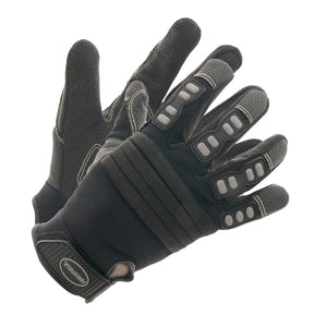 Black Kevlar Mechanics Gloves - Medium