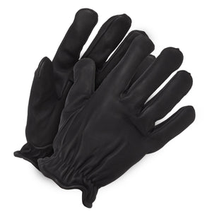 Pro-Frisk Black Sheep/Cow Skin Drivers Glove