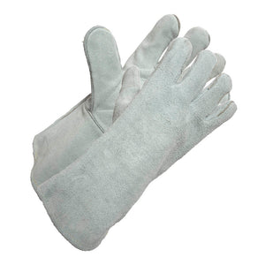 Split Leather Unlined Gauntlet Glove