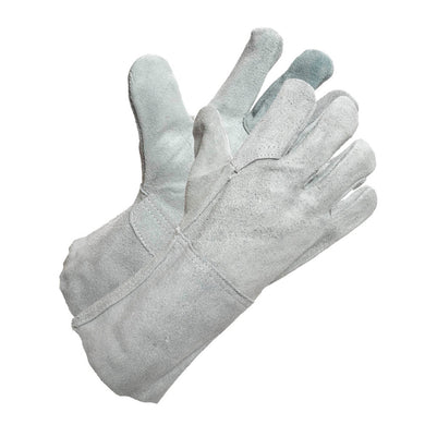 Grey Kevlar Sewn Welding Glove