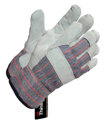 Ladies Thinsulate Fleece Lined Glove with PE Cuff