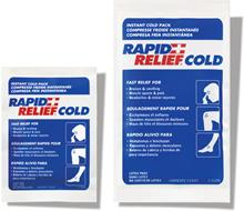 The New Rapid Relief® Instant Cold Packs