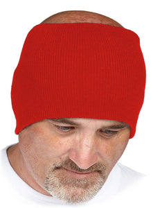 Red Acrylic Hard Hat Liner