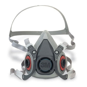 3M 6100 Small Half Facepiece Reusable Respirator