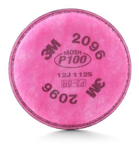 3M P100 Particulate Filter w nuisance level acid gas relief