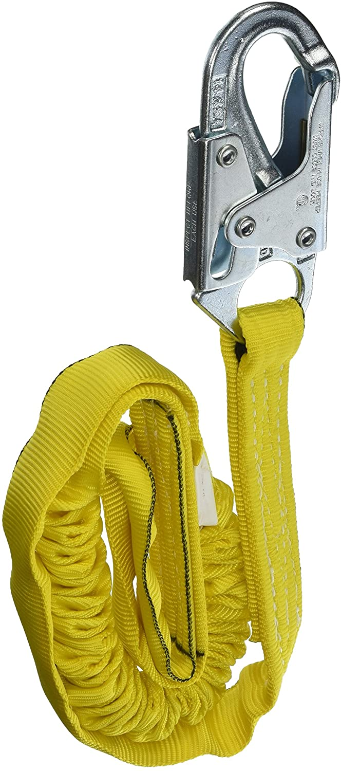 Miller Manyard Shock-Absorbing Lanyards 4-Feet