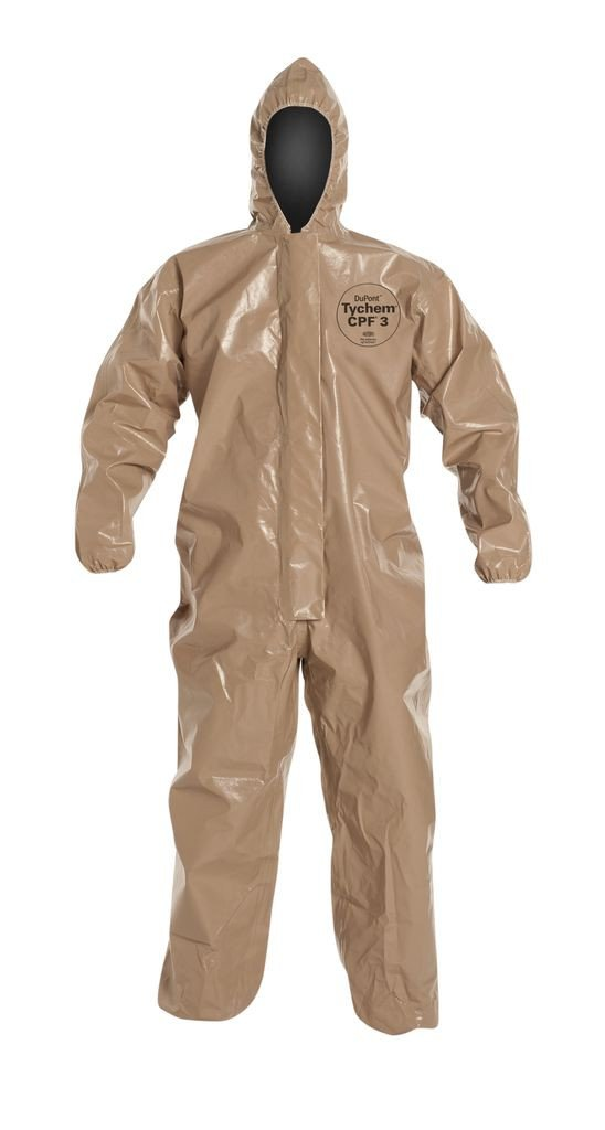 Tychem® 5000 CPF 3 Hooded Coverall Tan