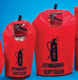 Cover for 20 pound Fire Extinguisher