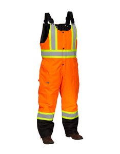 Hi Vis Winter Safety Overall
