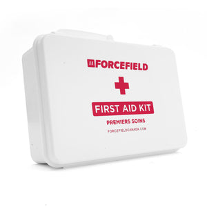First Aid Kit: Ontario, Section 9 Deluxe, 6-15 Unit, Plastic Box, Unitized