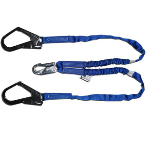 Double Legged Noryard W/ Snap Hook & N314 'Y' Ends | Integrated Shock Absorber