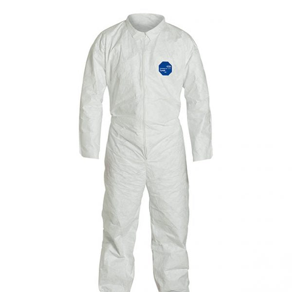Dupont TY120 Tyvek Coveralls with Open Wrists and Ankles
