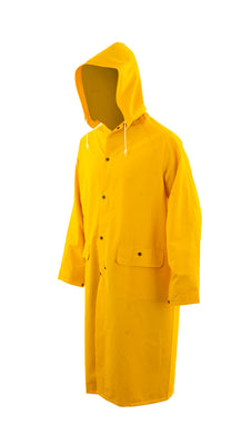 Fire Resistant 3/4 Length Rain Coat