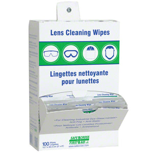 Lens Cleaning Towelettes, 100 per box