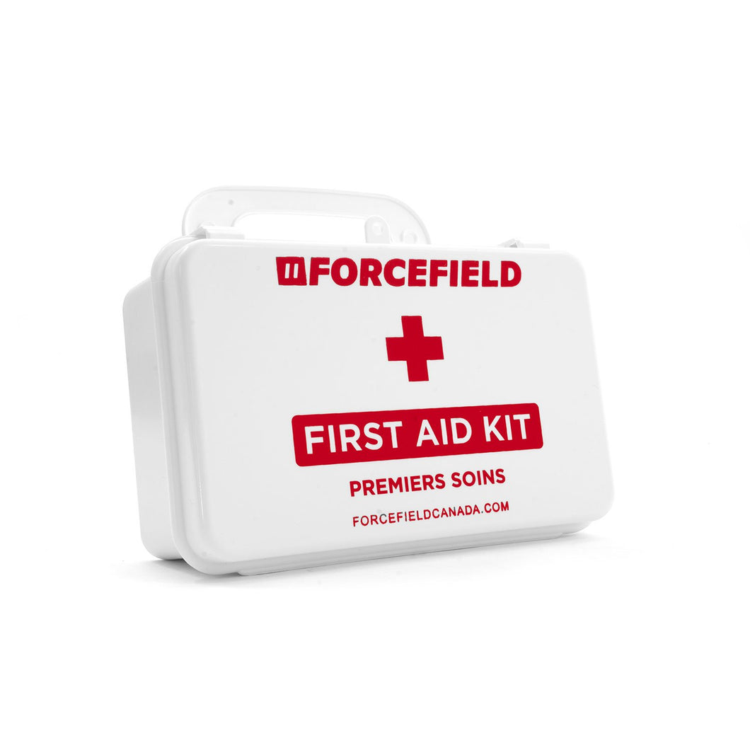 First Aid Kit: Ontario, Section 8, 10 Unit, Plastic Box, Unitized