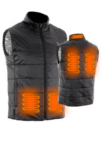 Unisex Lightweight Heated Vest with Battery Pack