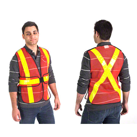 Safety/ Traffic Vest 5 Point Tear Away