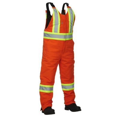Cotton Canvas Safety Overall - Hi Vis Safety