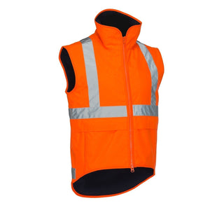 Deluxe Hi Vis Polar Fleece Lined Safety Vest - Hi Vis Safety