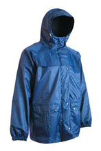 Load image into Gallery viewer, Deluxe Rain Jacket - Hi Vis Safety
