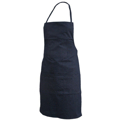 Denim & Cloth Apron - Hi Vis Safety