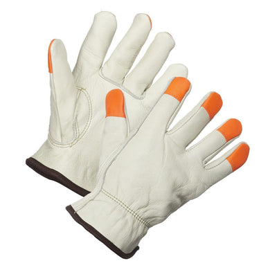 Driver's Glove, Thinsulate Lined, Hi-Vis Fingertips - Hi Vis Safety