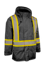 Load image into Gallery viewer, Hi Vis Insulated Miners Jacket