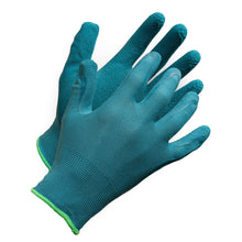 "Load image into Gallery viewer, Fieldwork Ladies Garden Gloves"" Seamless Foam Latex Palm Coated - Hi Vis Safety"
