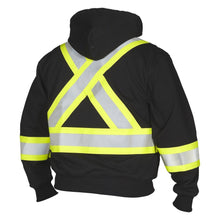 Load image into Gallery viewer, FR Hoodie, with Detachable Hood - Hi Vis Safety
