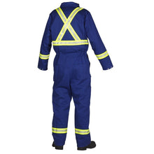 Load image into Gallery viewer, FR Treated 100% Cotton Coverall with Reflective Tape - Hi Vis Safety