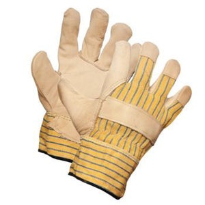 Cowgrain One Piece Beige Leather Palm Glove