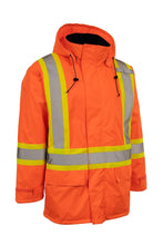 Load image into Gallery viewer, Hi Vis Insulated Miners Jacket - Hi Vis Safety