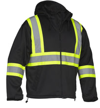 Load image into Gallery viewer, Hi Vis Safety Softshell Water Resistant Jacket - Hi Vis Safety