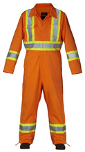 Load image into Gallery viewer, Hi Vis Safety Unlined Coverall - Hi Vis Safety