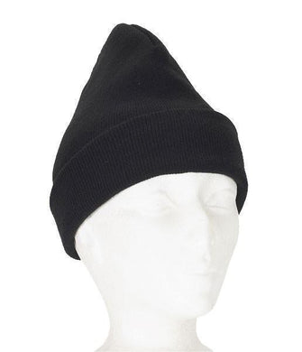 Navy Acrylic Knitted Toque - Hi Vis Safety