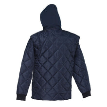 Load image into Gallery viewer, Quilted Freezer Jacket - Hi Vis Safety