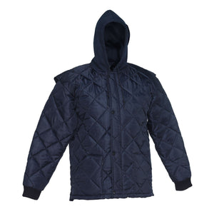 Quilted Freezer Jacket - Hi Vis Safety