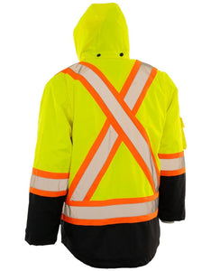 Porter Re-Engineered 4-in-1 Hi Vis Safety Parka with Logo