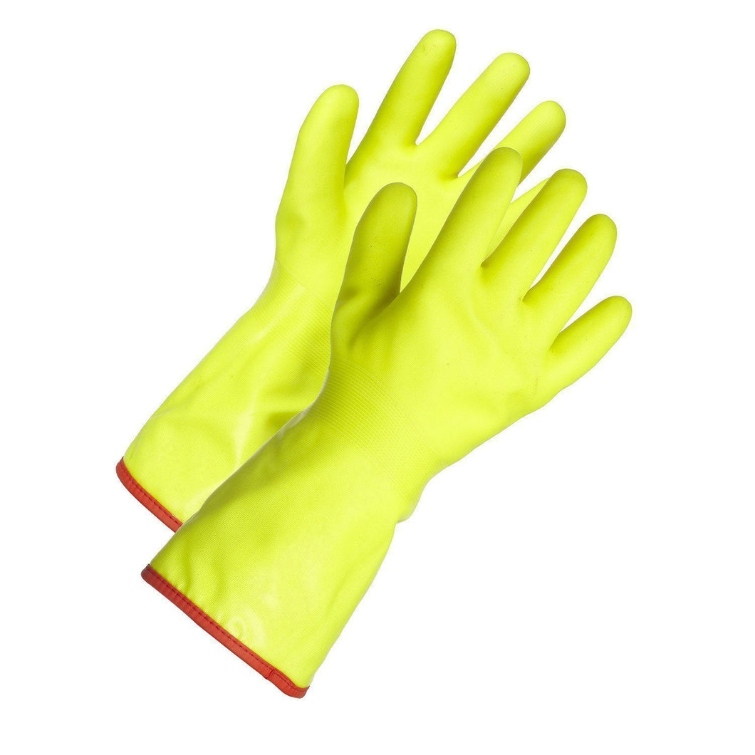 Soft PVC Chemical Resistant Gloves - Hi Vis Safety
