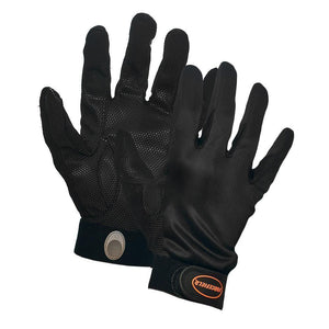 Spandex Mechanic's Glove with Pattern Grip, Velcro Wrist - Hi Vis Safety