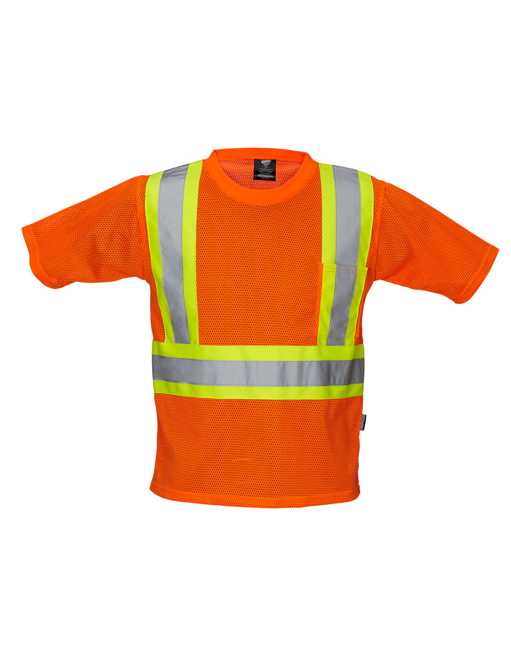 Orange Mesh CSA Safety T-shirt