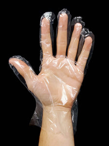 Disposable PE (Polyethylene) Food Prep Gloves (10,000 Gloves)