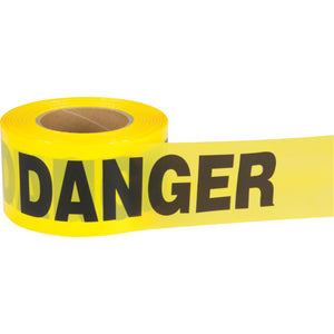 Yellow Danger Tape