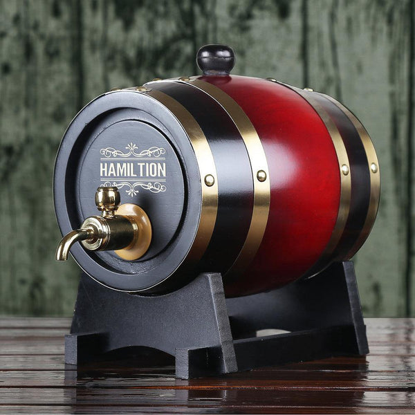 Personalized Whiskey Barrel Groomsman Gifts, Boy's Gift - GiftCustomization