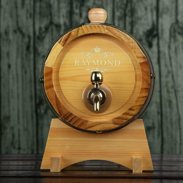 Personalized Whiskey Barrel Groomsman Gifts, Gifts for boss - GiftCustomization