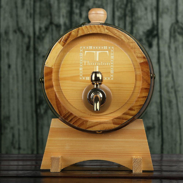 Personalized Whiskey Barrel Groomsman Gifts, Men's Gift - GiftCustomization