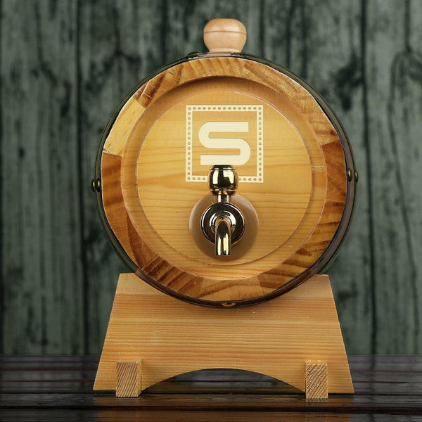 Personalized Whiskey Barrel Groomsman Gifts, Groomsmen Gift - GiftCustomization