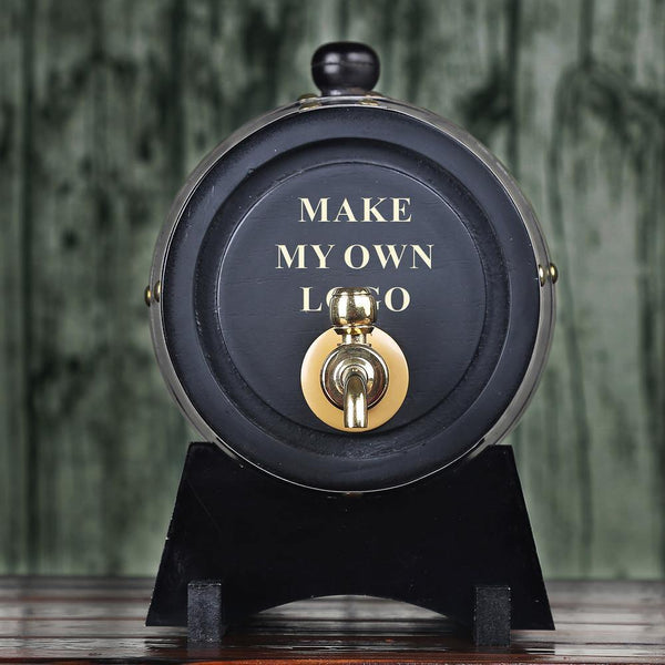 Personalized Whiskey Barrel Groomsman Gifts, Gift for Boss - GiftCustomization