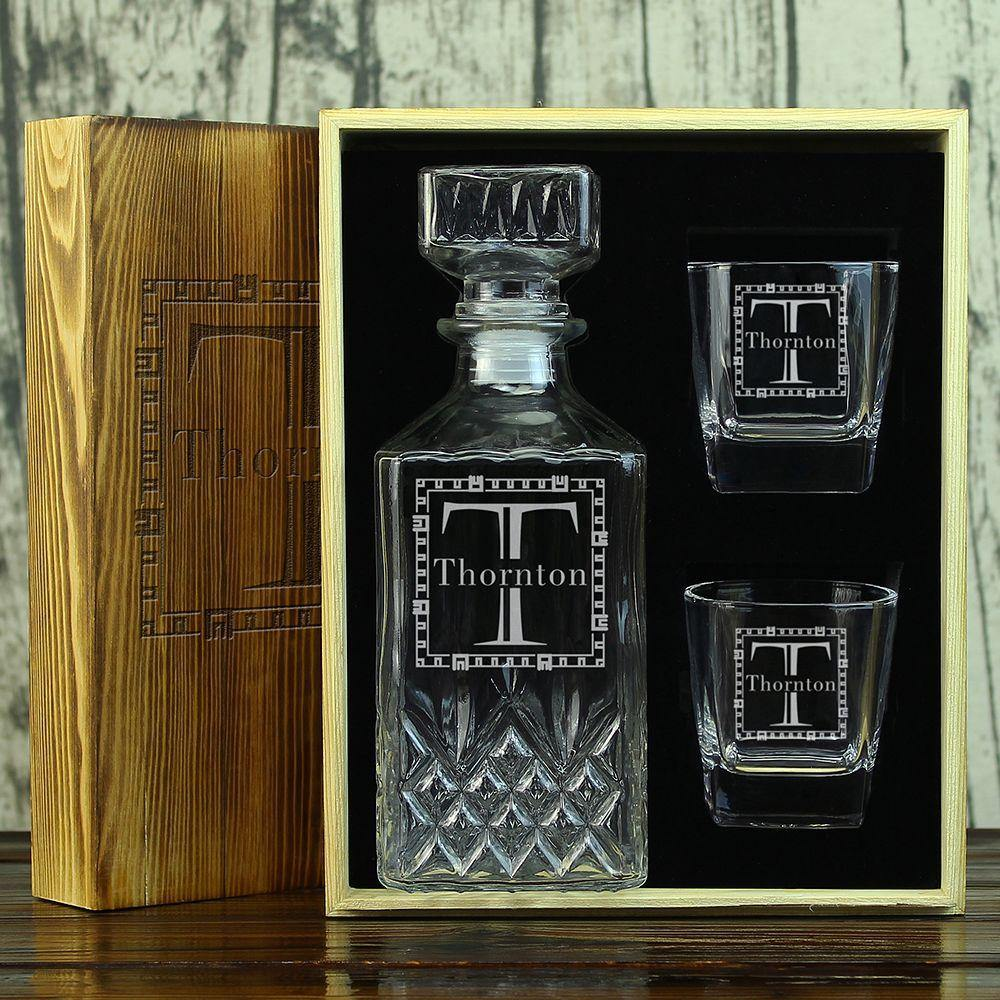 Personalized Wedding Gifts For Groomsmen: Personalized Decanter Set, Groomsmen Gifts Ideas
